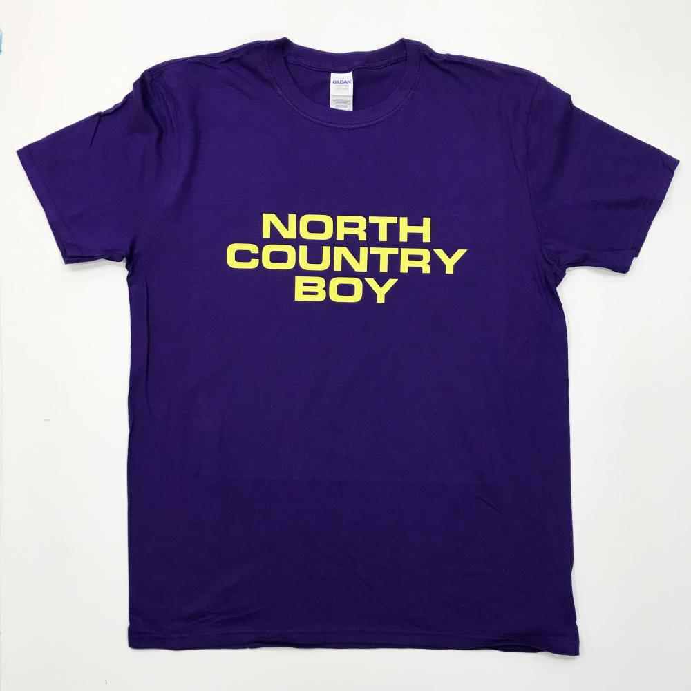 Purple North Country Boy T-Shirt