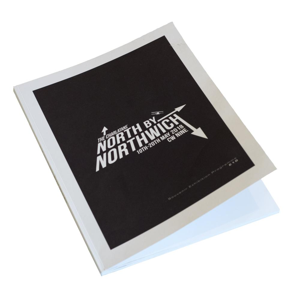 Buy Online The Charlatans - North By Northwich Programme