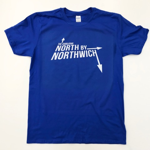 Buy Online The Charlatans - NXNW T-Shirt