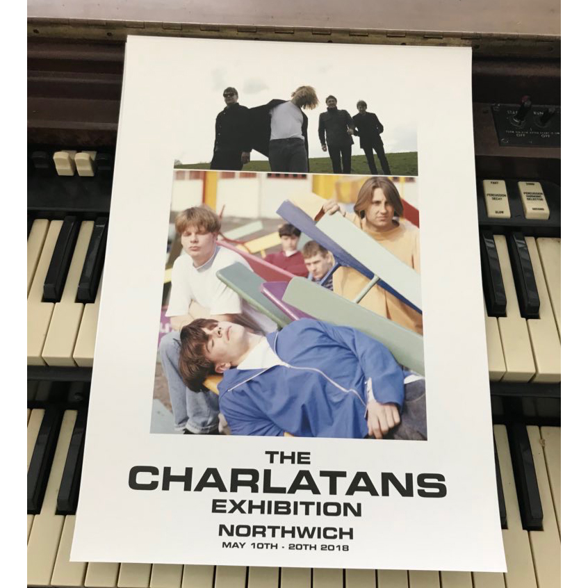 Buy Online The Charlatans - Exhibition Print