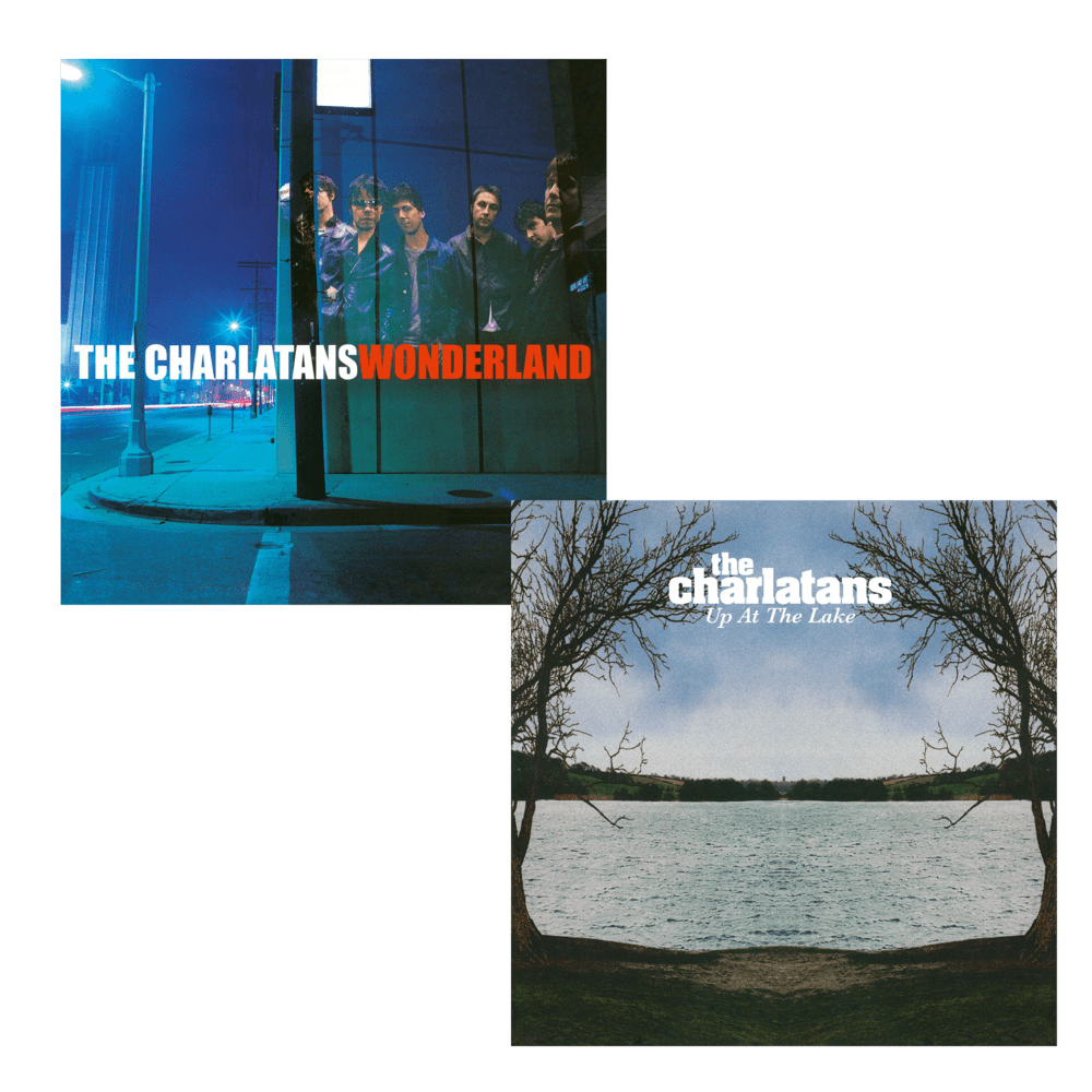 Buy Online The Charlatans - Wonderland Vinyl + Up At The Lake Vinyl