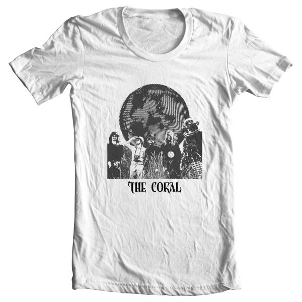Buy Online The Coral - Globe T-Shirt White