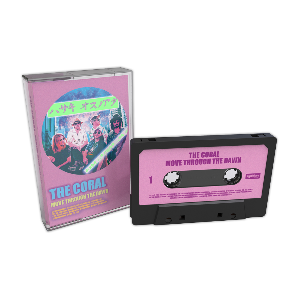 Buy Online The Coral - Move Through The Dawn Cassette (Ltd Edition) (Signed)