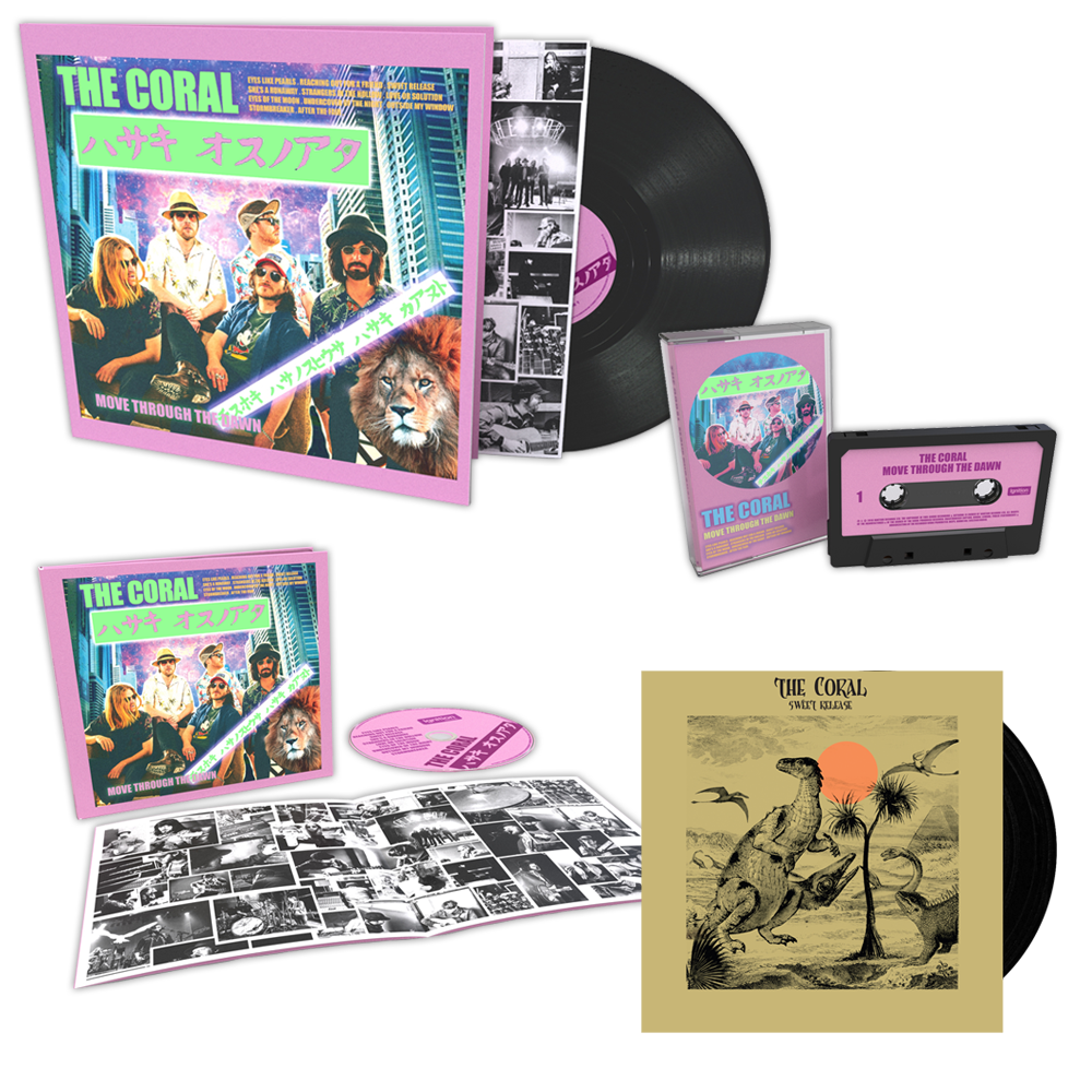 Buy Online The Coral - Move Through The Dawn CD + Vinyl LP + Cassette (Signed) + 7-Inch Vinyl
