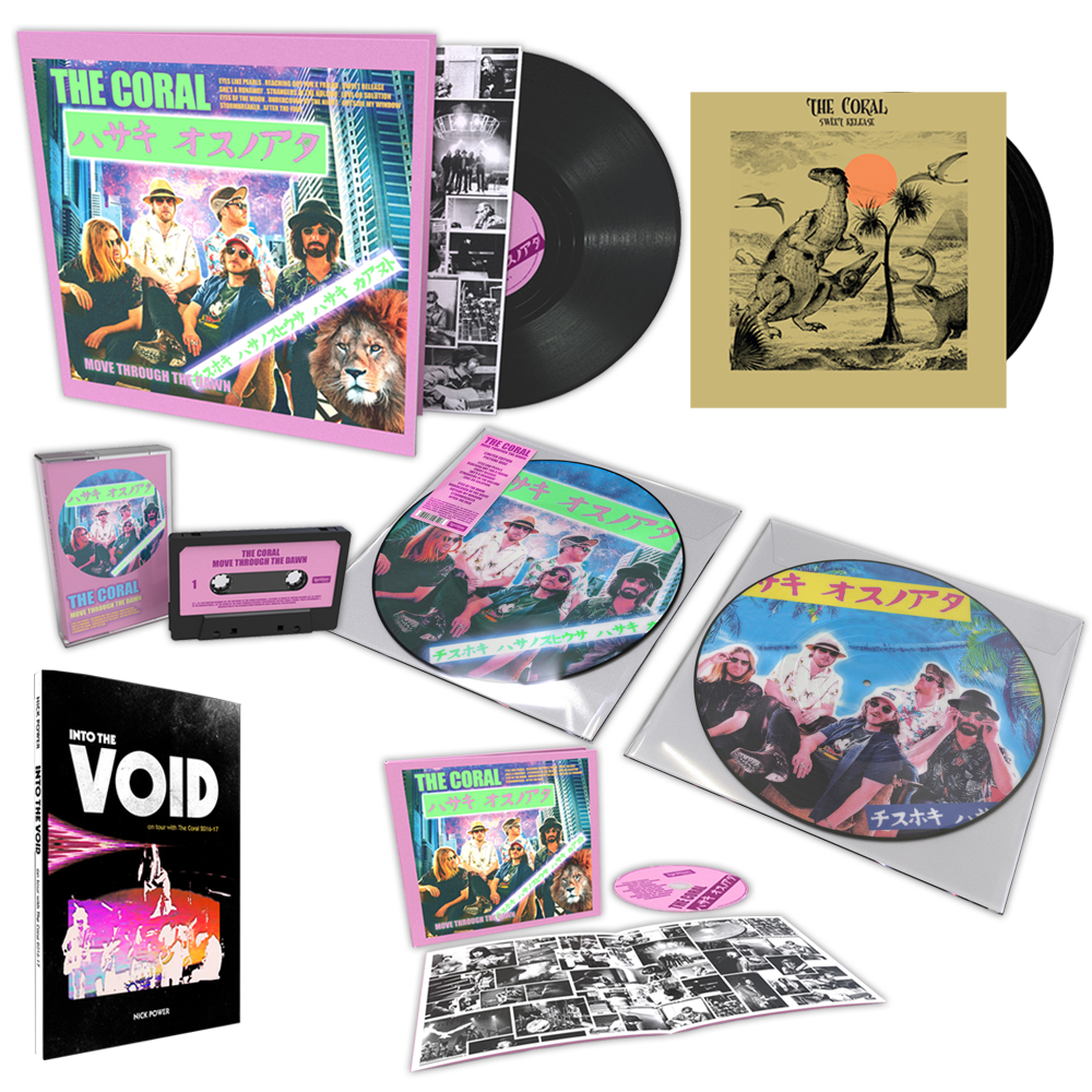Buy Online The Coral - Move Through The Dawn Super Deluxe Bundle