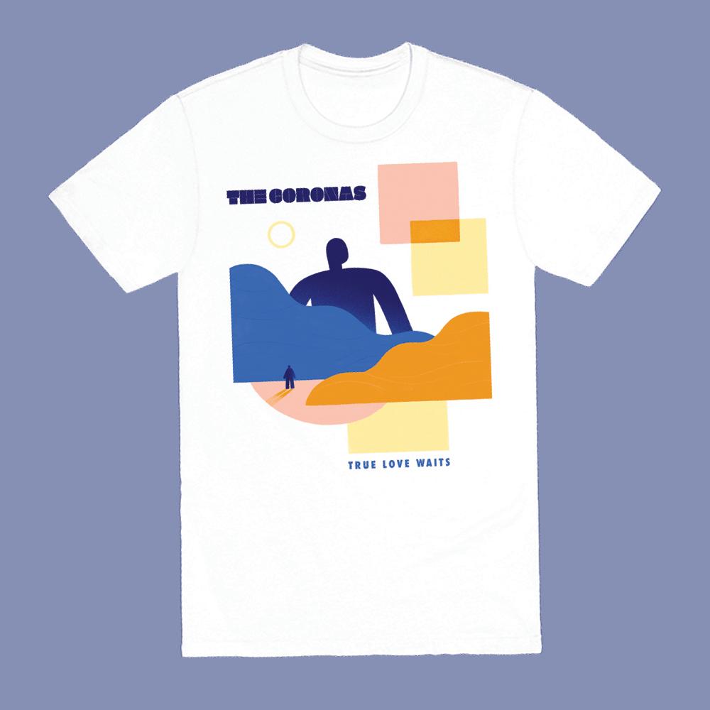 Buy Online The Coronas - True Love Waits T-Shirt