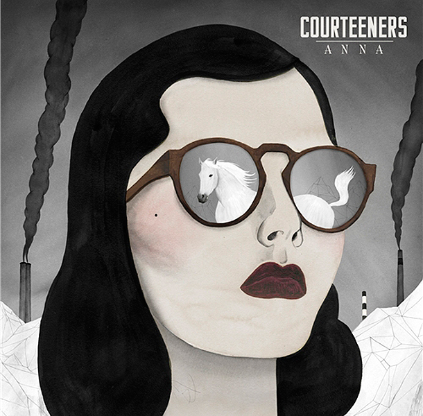 Buy Online Courteeners - Anna CD Album + Signed Lyric Sheet