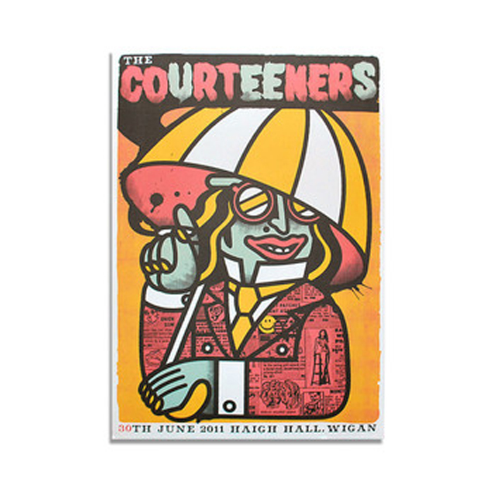 Buy Online Courteeners - Haigh Hall Print