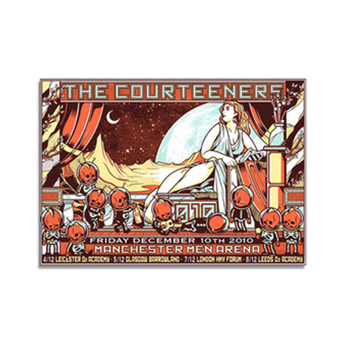 Buy Online Courteeners - Manchester Arena Print