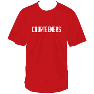 Buy Online Courteeners - Courteeners Logo Red T-Shirt