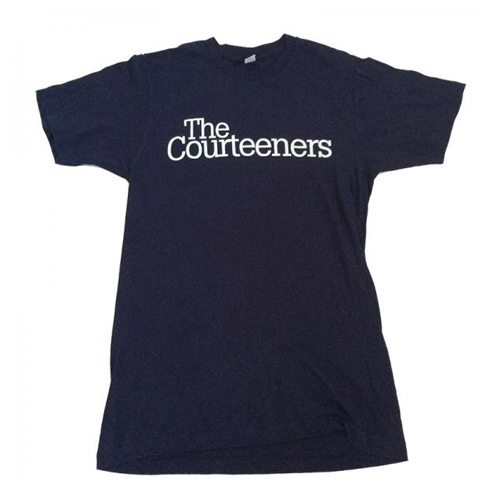 Buy Online Courteeners - Navy USA 2009 Tour T-Shirt