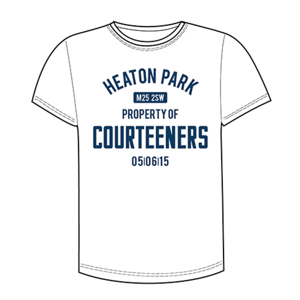 Buy Online Courteeners - Property Of T-Shirt