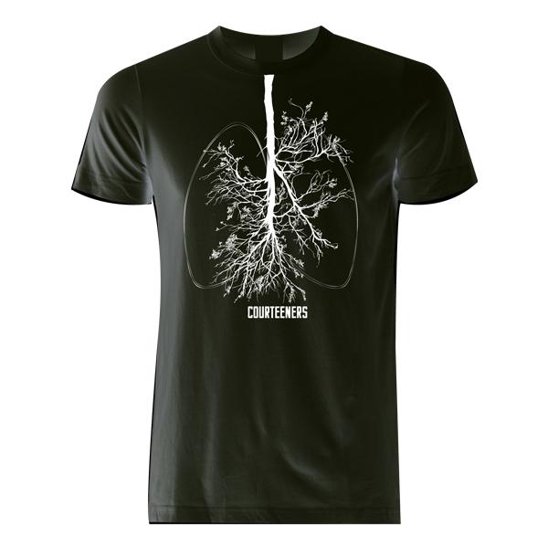 Buy Online Courteeners - Breathe Black T-Shirt