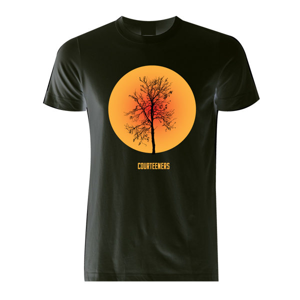 Buy Online Courteeners - Tree T-Shirt (Orange)