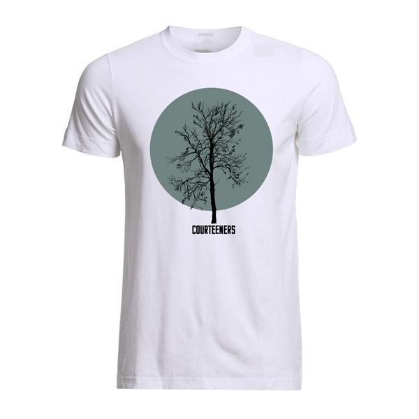 Buy Online Courteeners - Tree T-Shirt (Grey/Green)