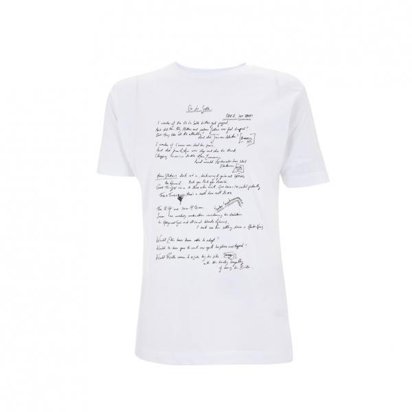 Buy Online Courteeners - De La Salle White T-Shirt