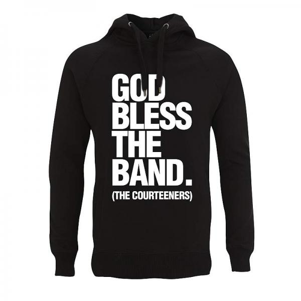 Buy Online Courteeners - God Bless The Band Hoody