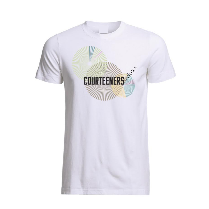 Buy Online Courteeners - Geo Burst T-Shirt