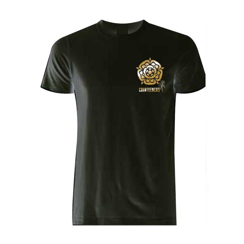 Buy Online Courteeners - Old Trafford 2017 Gold Rose T-Shirt