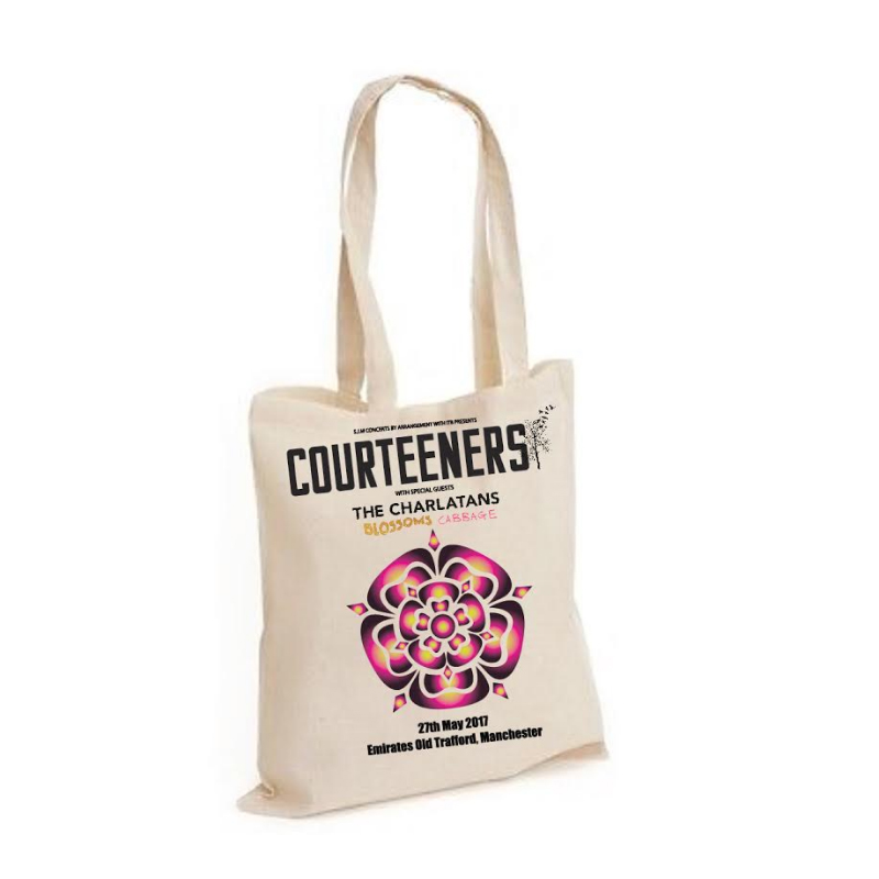 Buy Online Courteeners - Old Trafford 2017 Event Tote Bag