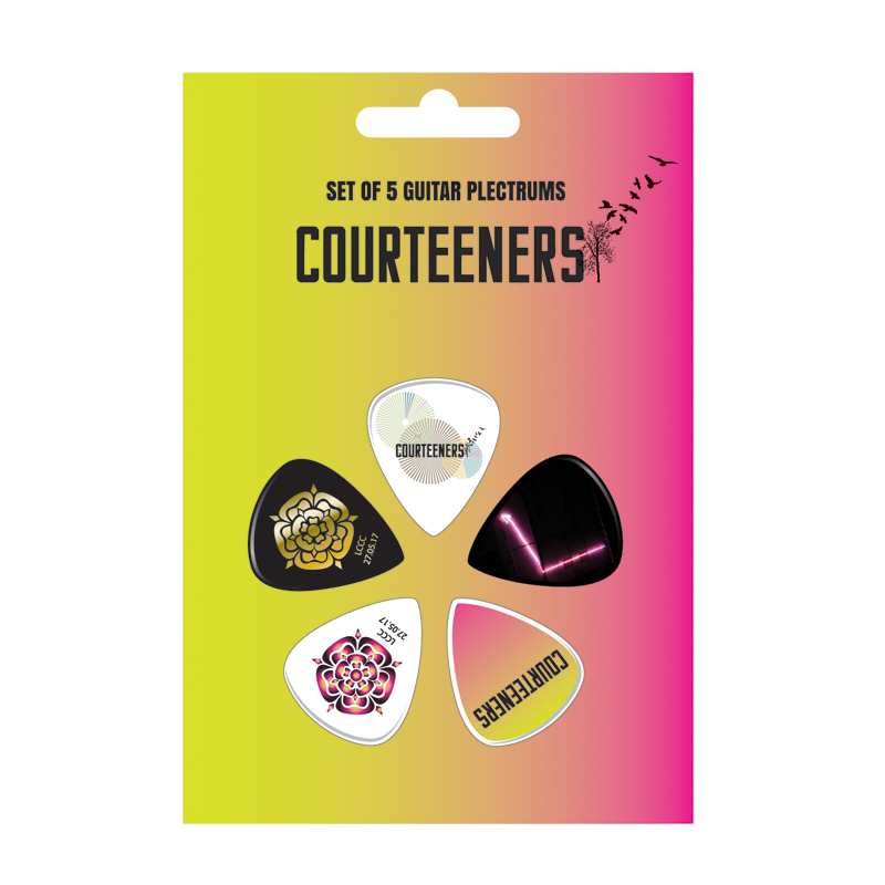 Buy Online Courteeners - Old Trafford 2017 Plectrum Set