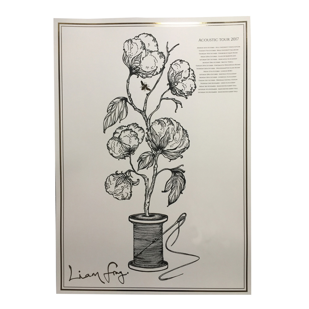 Buy Online Liam Fray - Foiled Art Print