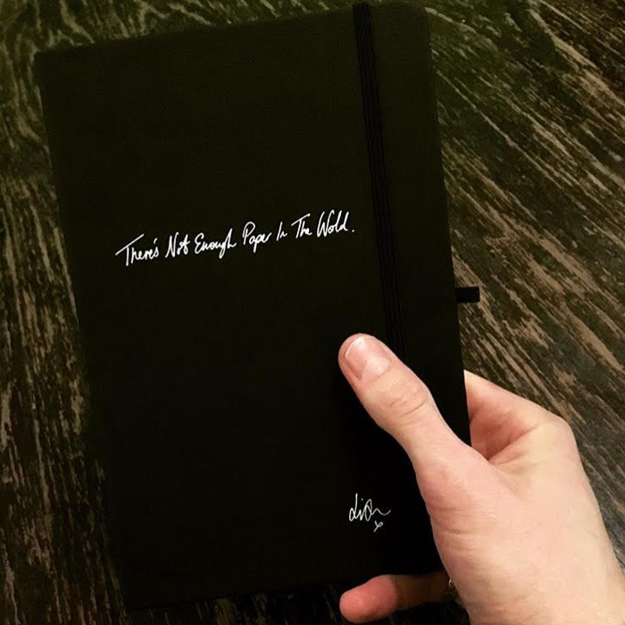 Buy Online Liam Fray - There's Not Enough Paper In The World Notebook
