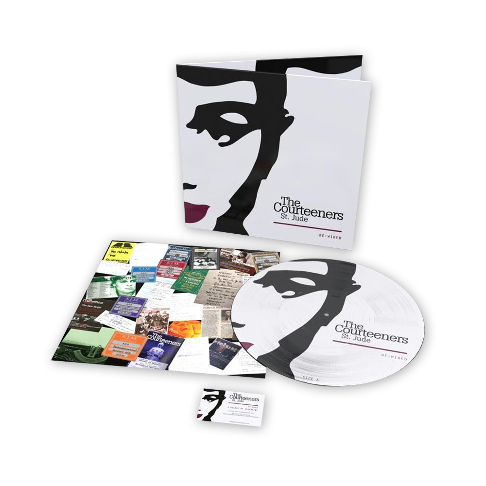 Buy Online Courteeners - St. Jude Re:Wired Vinyl Picture Disc (Exclusive Ltd Edition)