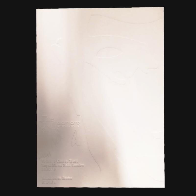 Buy Online Courteeners - St. Jude Embossed Artwork Print (Signed)