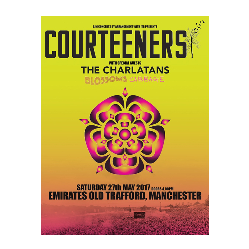 Buy Online Courteeners - Old Trafford A3 Art Print