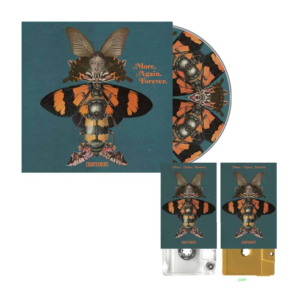Buy Online Courteeners - More. Again. Forever. CD Album + 2 x Coloured Cassettes