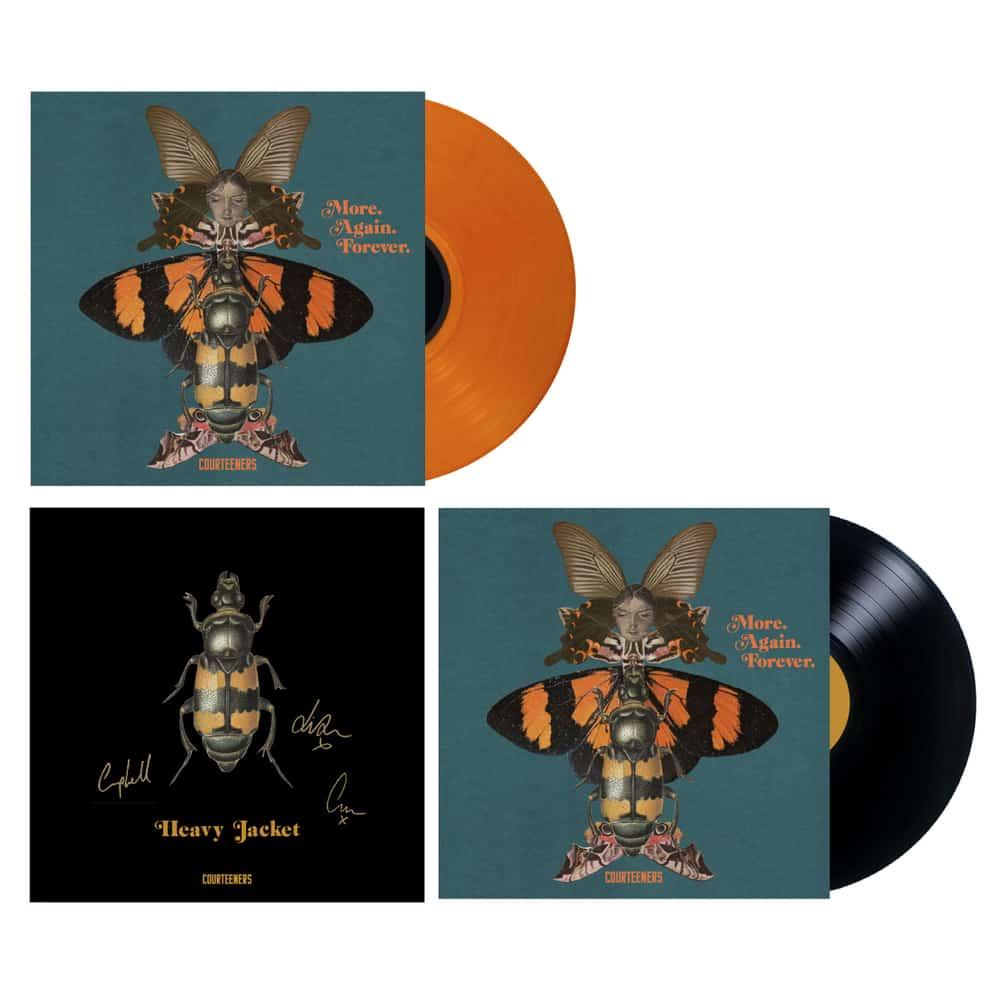 Buy Online Courteeners - More. Again. Forever. Coloured Vinyl + Black Vinyl + Signed Print