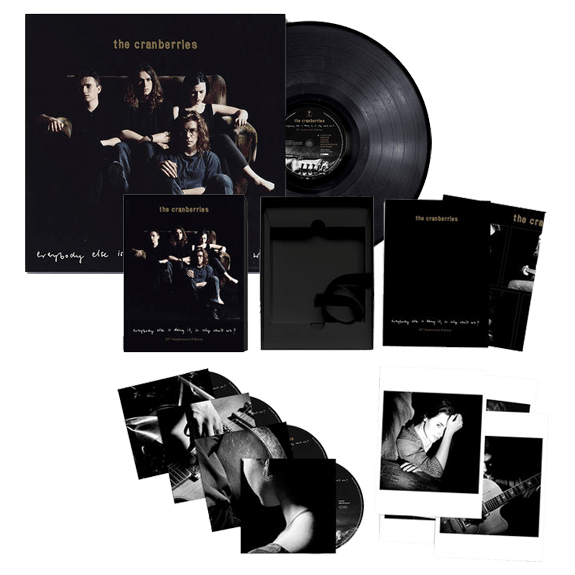Buy Online The Cranberries - Everybody Else Is Doing It So Why Can't We 4CD Set + Vinyl