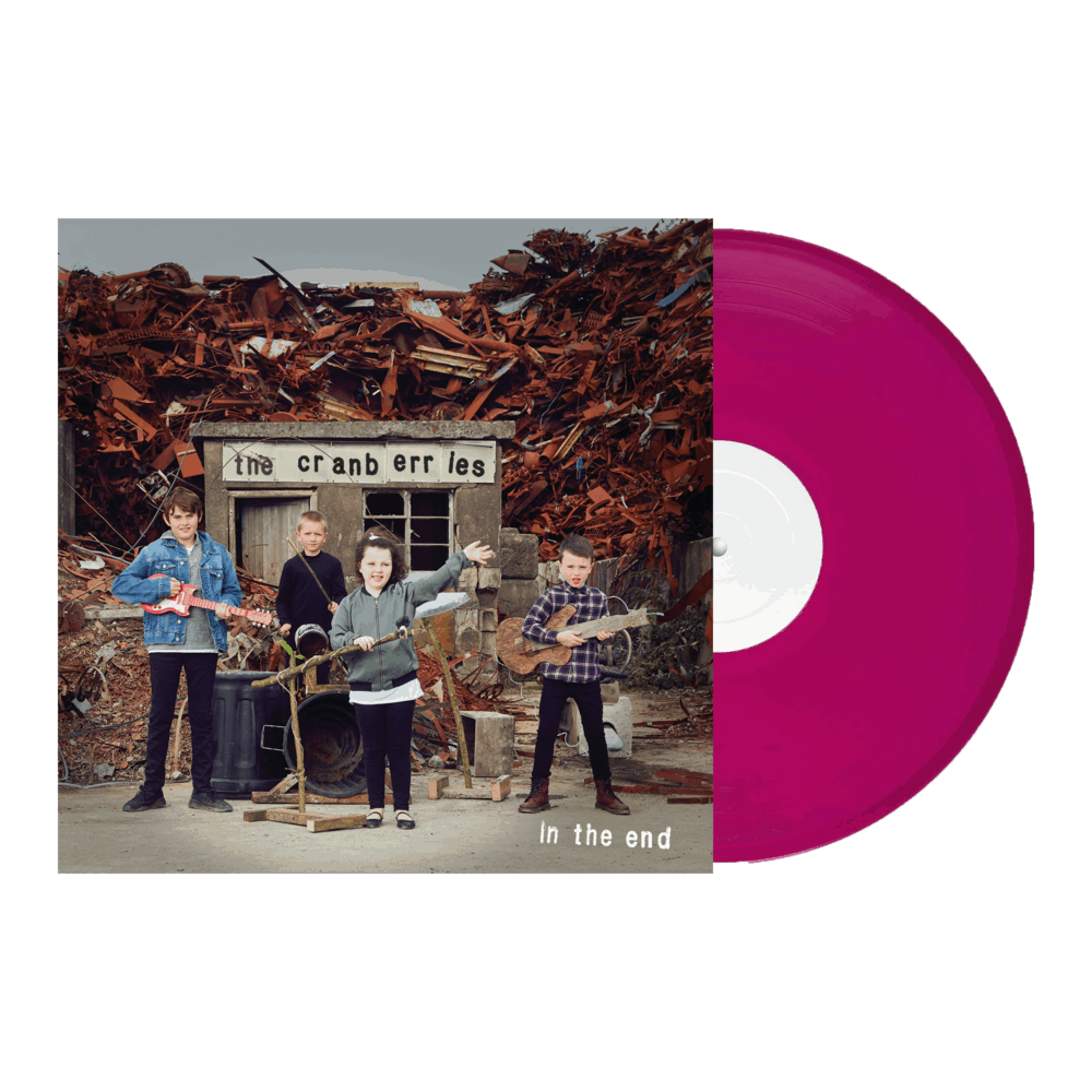 Buy Online The Cranberries - In The End  Cranberry Coloured Vinyl