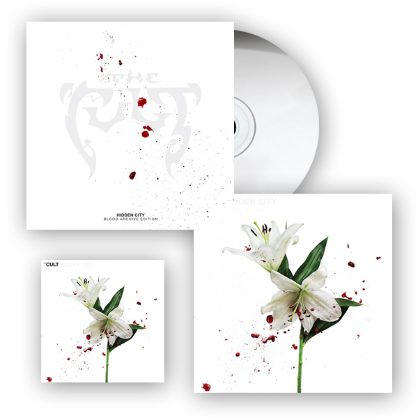 Hidden City CD + (Blood Archive Edition) White Heavy 2LP + Print