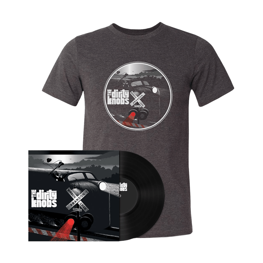 Buy Online The Dirty Knobs - Wreckless Abandon Vinyl + T-Shirt