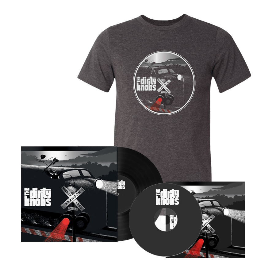 Buy Online The Dirty Knobs - Wreckless Abandon Vinyl + CD + T-Shirt