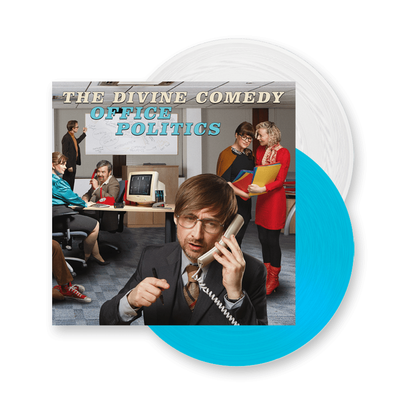 Buy Online The Divine Comedy - Office Politics Coloured