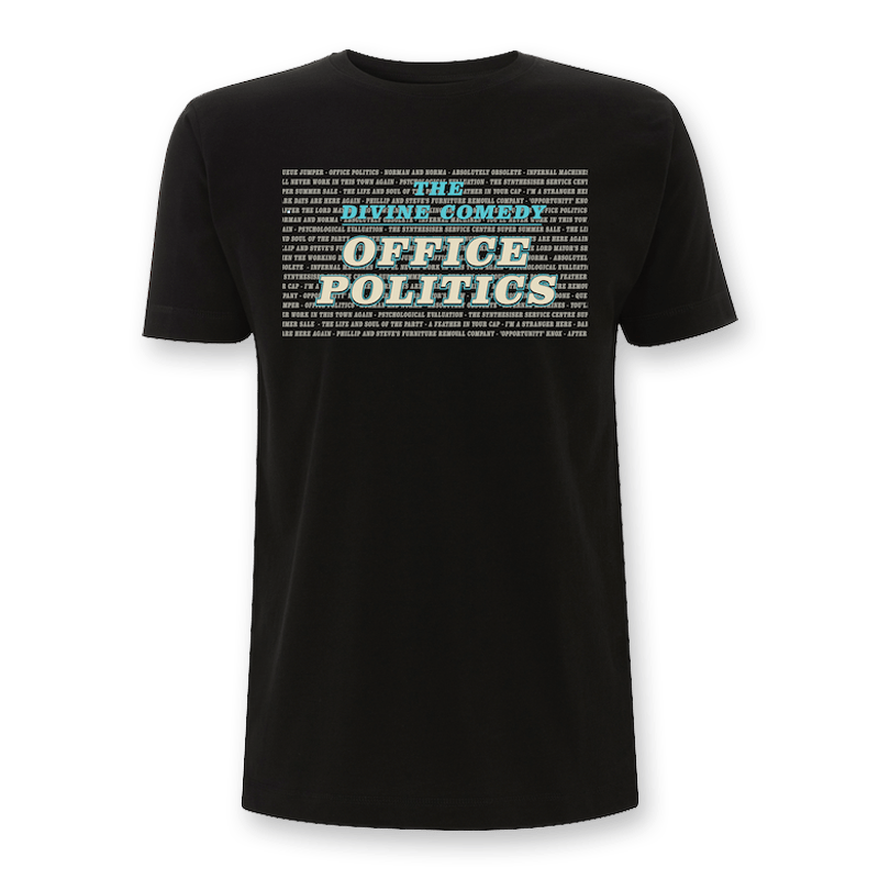 Buy Online The Divine Comedy - Office Politics T-Shirt