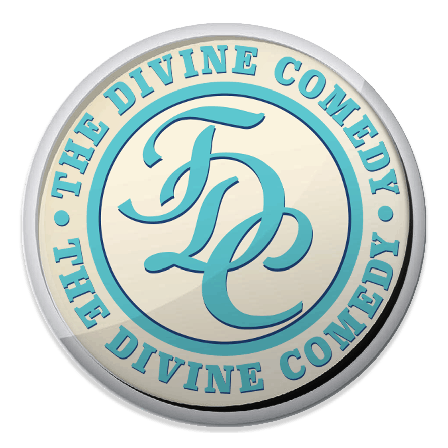 Buy Online The Divine Comedy - TDC Enamel Badge