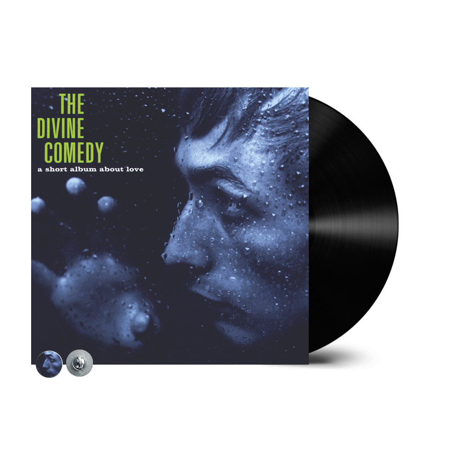 Buy Online The Divine Comedy - A Short Album About Love Vinyl (Remastered) (Inc. A Short Album About Love Badge)