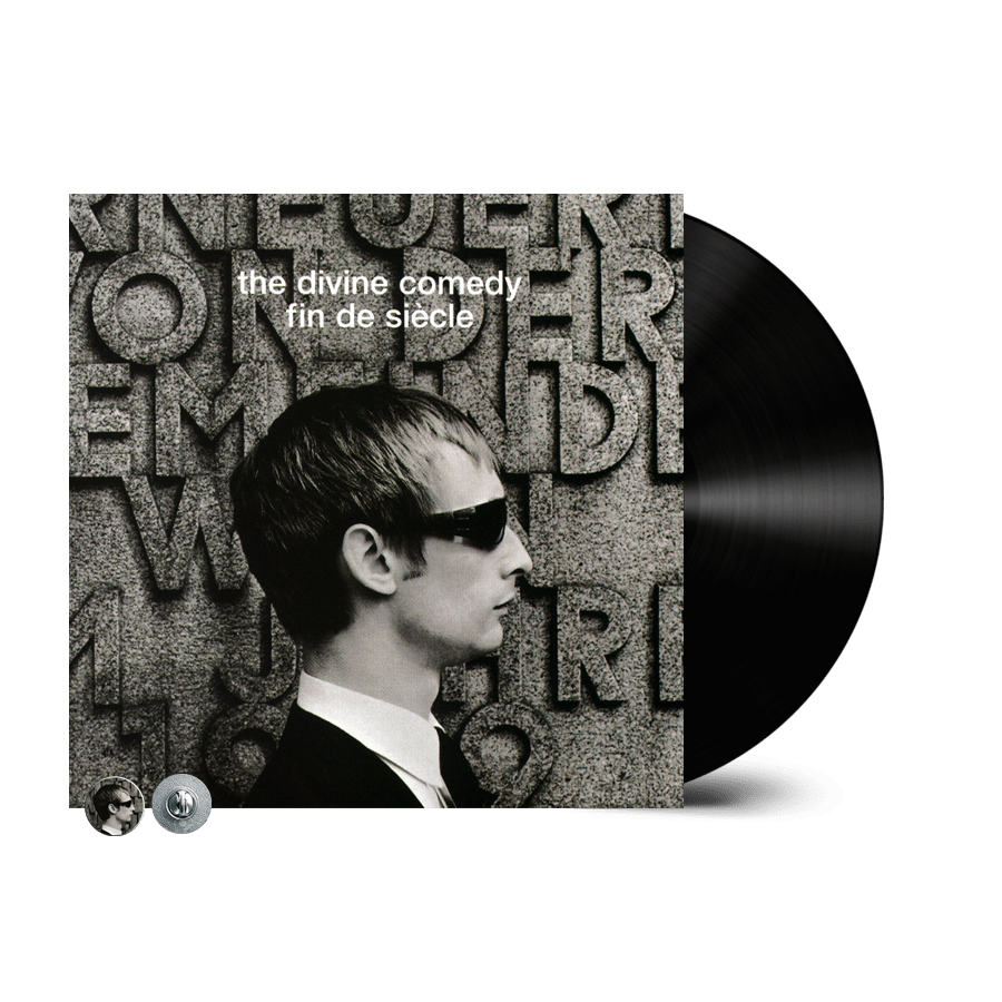 Buy Online The Divine Comedy - Fin De Siecle Vinyl (Remastered) (Inc. Fin De Siecle Badge)