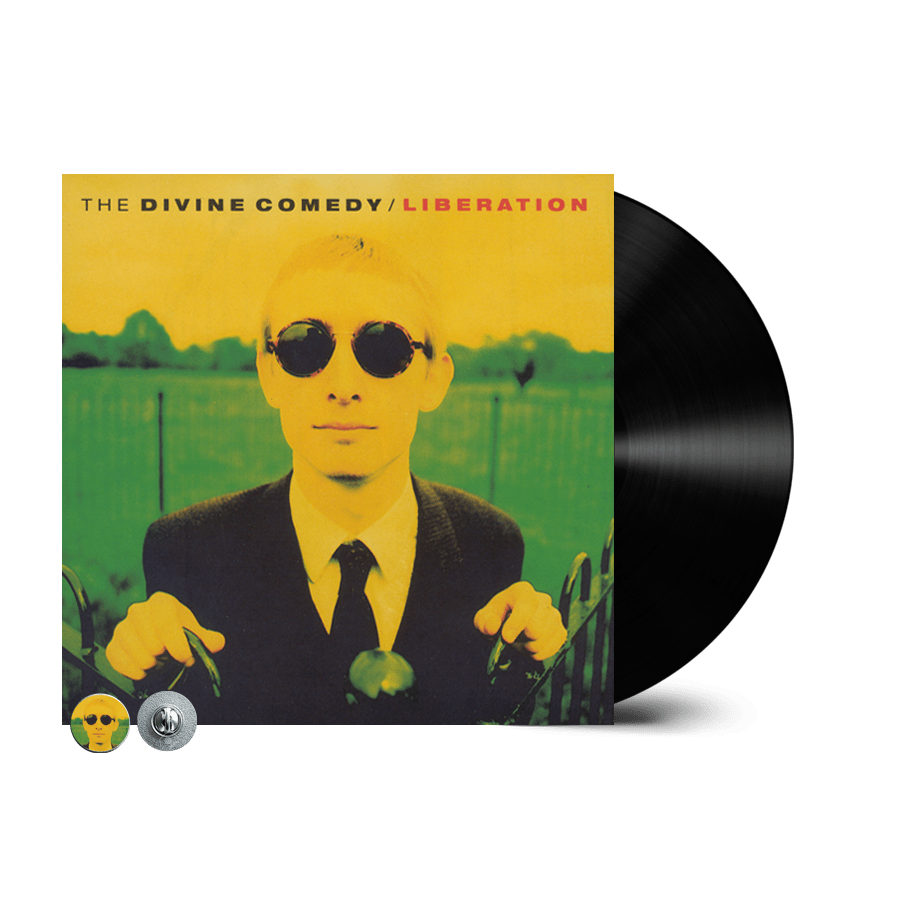 Buy Online The Divine Comedy - Liberation Vinyl (Remastered) (Inc. Liberation Badge)