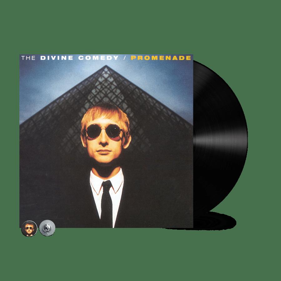 Buy Online The Divine Comedy - Promenade Vinyl (Remastered) (Inc. Promenade Badge)