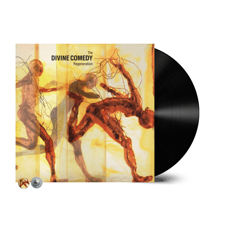 Buy Online The Divine Comedy - Regeneration Vinyl (Remastered) (Inc. Regeneration Badge)