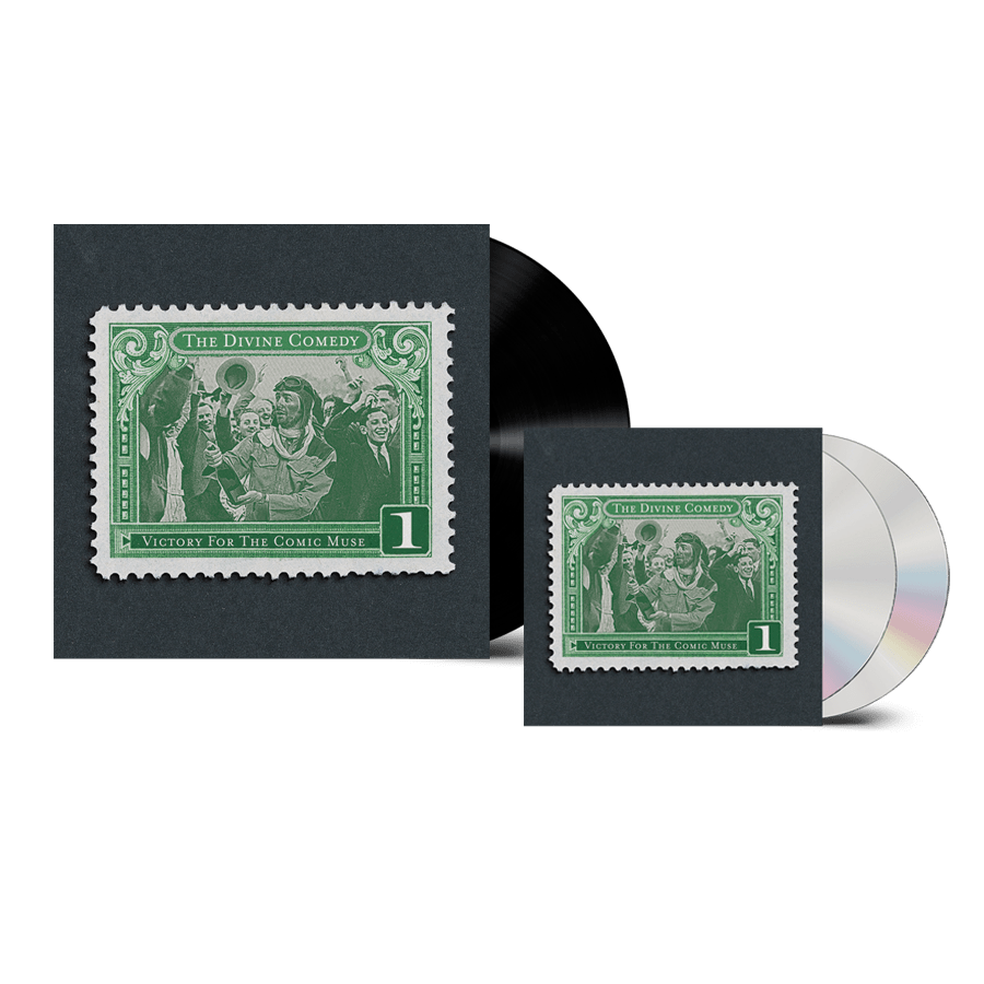 Buy Online The Divine Comedy - Victory For The Comic Muse Vinyl + 2CD (Remastered) (Inc. Pin Badge)