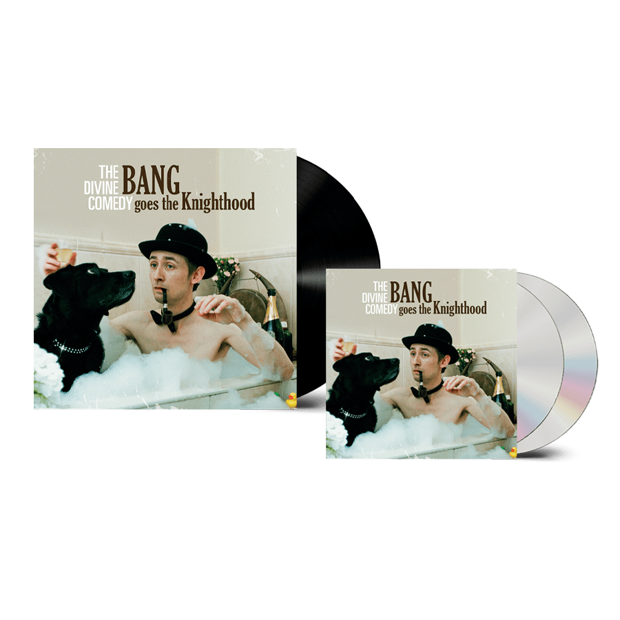 Buy Online The Divine Comedy - Bang Goes The Knighthood Vinyl + 2CD (Remastered) (Inc. Pin Badge)