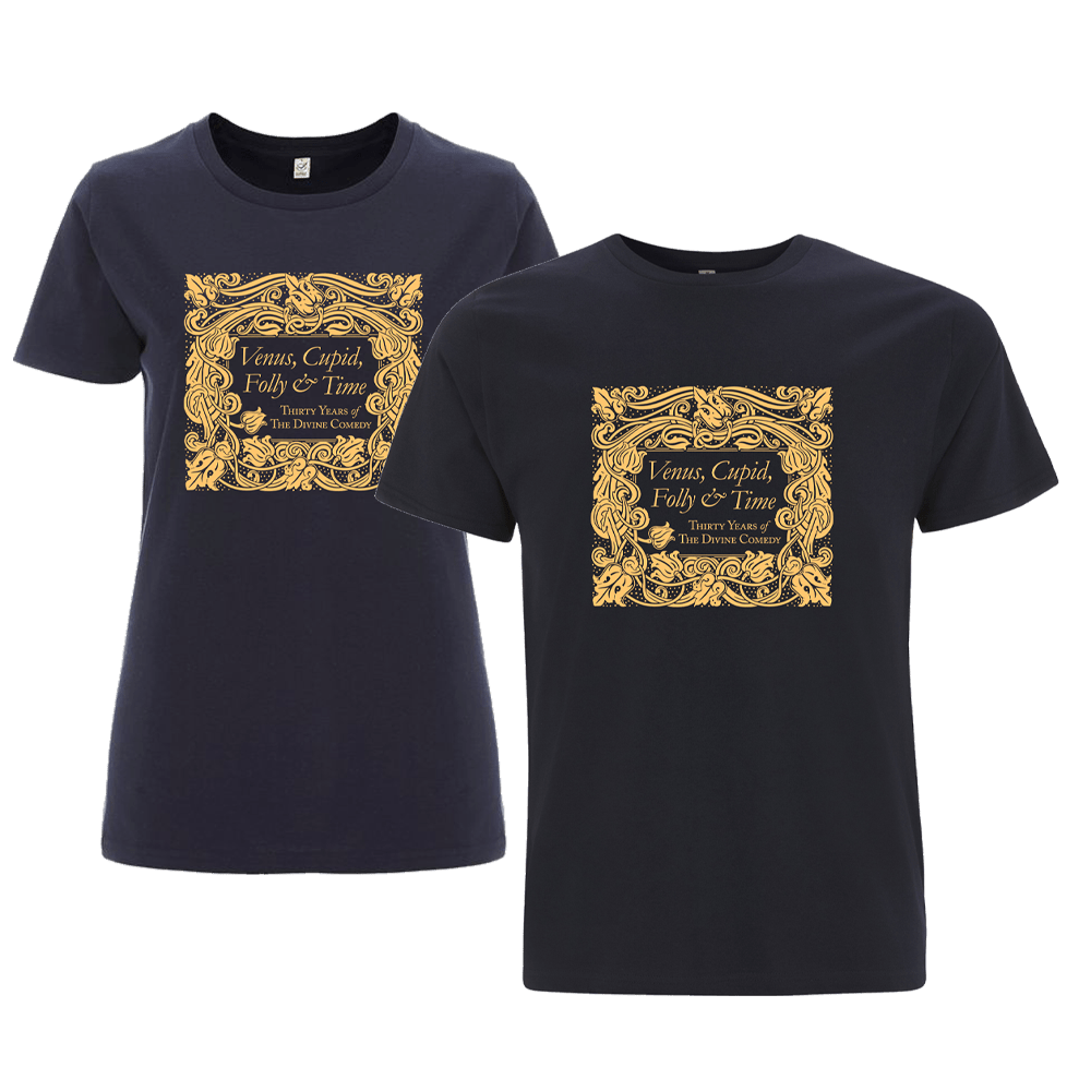 Buy Online The Divine Comedy - Venus, Cupid, Folly And Time - T-Shirt