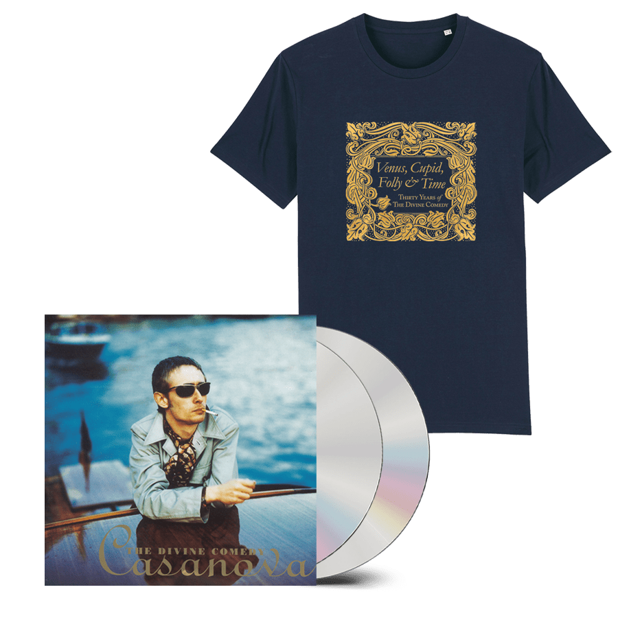 Buy Online The Divine Comedy - Casanova 2CD (Remastered) + T-Shirt