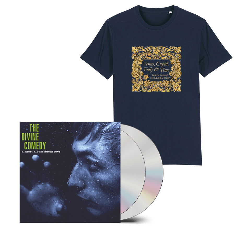 Buy Online The Divine Comedy - A Short Album About Love 2CD (Remastered) + T-Shirt